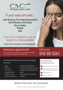 OVC A3 Emergency Poster